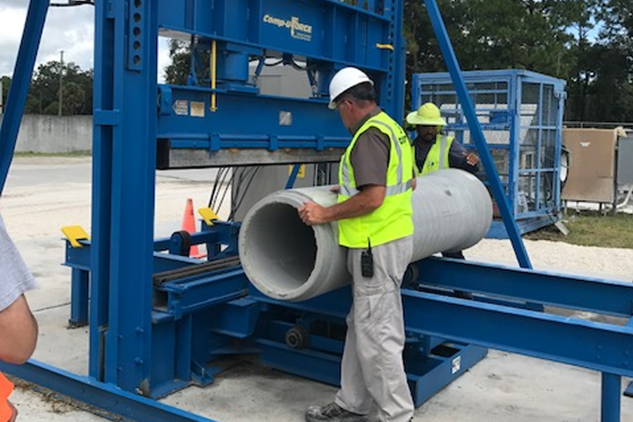 Concrete Pipe Plant : Concrete pipe week