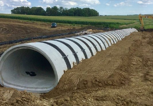 Precast Concrete Products Accelerate Highway 20 Construction