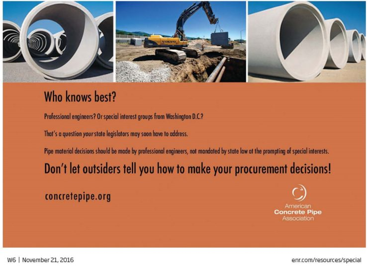 Rinker Materials Concrete Pipe Division : News releases